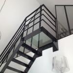 Escalier dalle verre-Eurl Philippe BEZIER Sautron